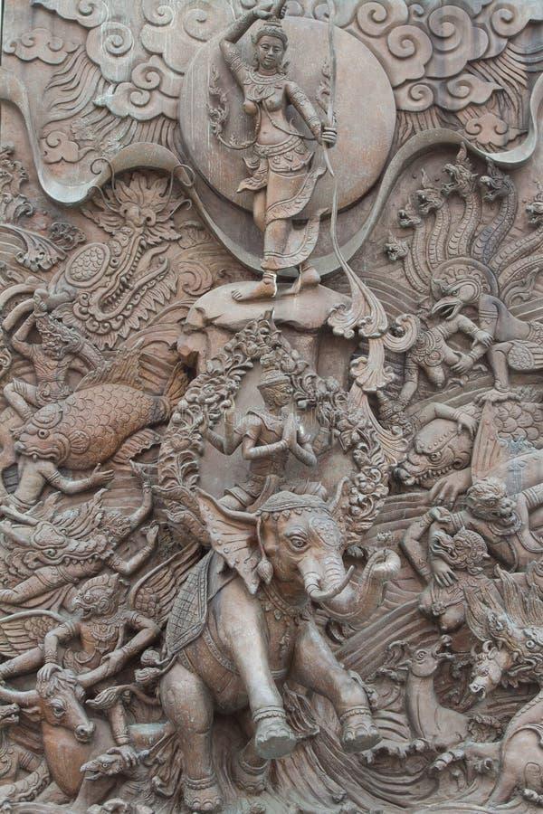 Статуя Ramayana стоковая фотография