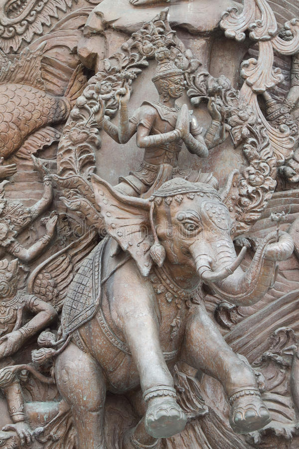 Статуя Ramayana стоковое изображение