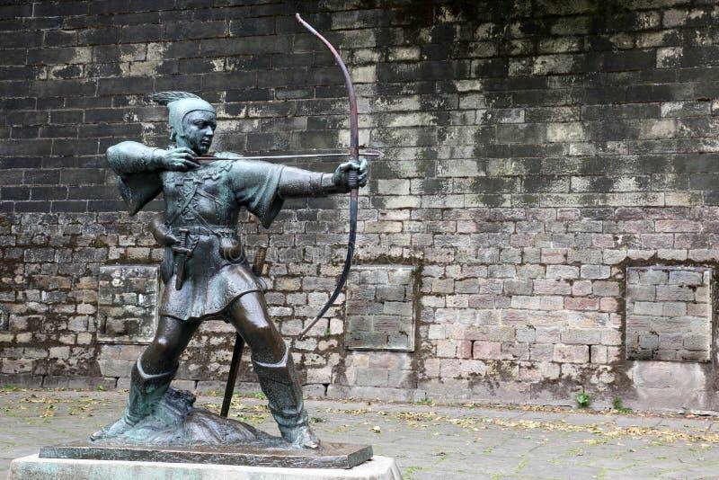 Статуя Robin Hood Стоковая Фотография RF