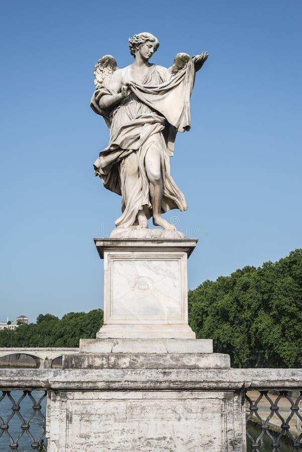 статуя rome ангела стоковые фото