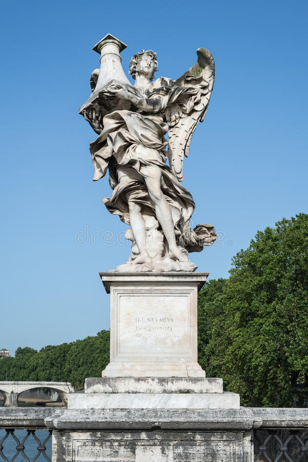 статуя rome ангела стоковая фотография rf
