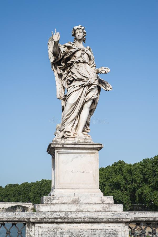 статуя rome ангела стоковые фотографии rf