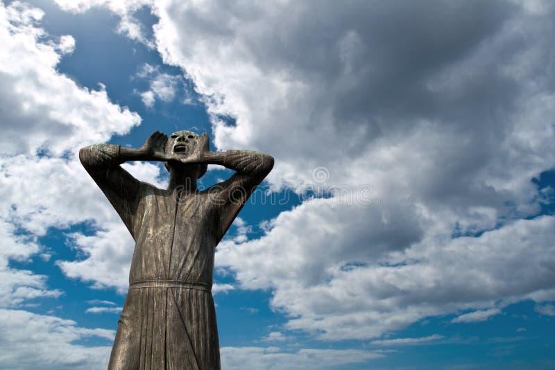 статуя rufer der berlin стоковое изображение