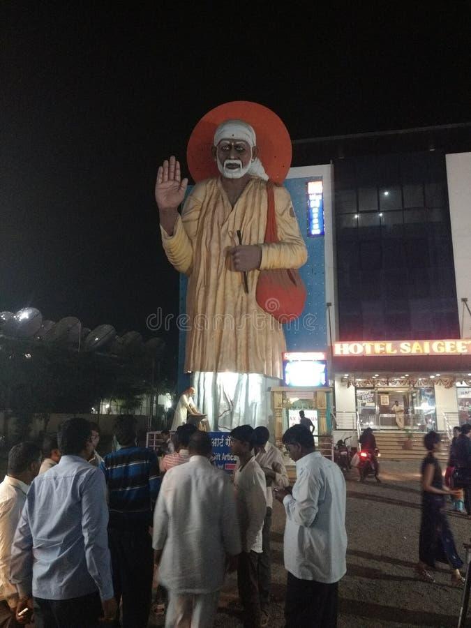 Статуя Saibaba в shirdi стоковая фотография rf