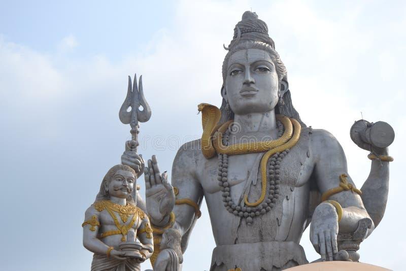Статуя Shiva - Murudeshwar стоковые изображения rf