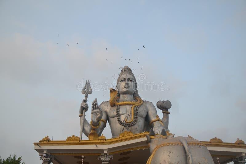 Статуя Shiva - Murudeshwar стоковое изображение