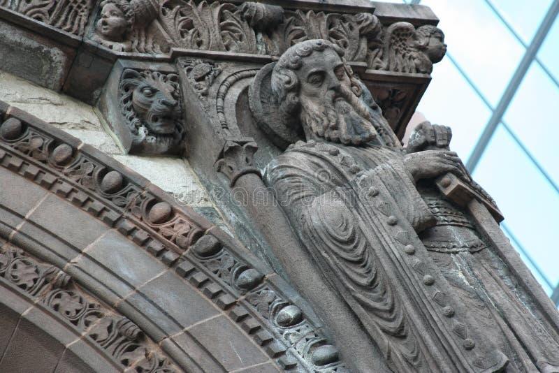статуя st Паыля стоковые фотографии rf
