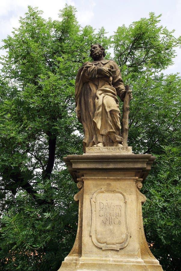 Статуя St Jude Thaddeus стоковое изображение rf