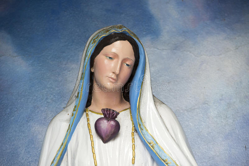 Статуя St Mary стоковое изображение