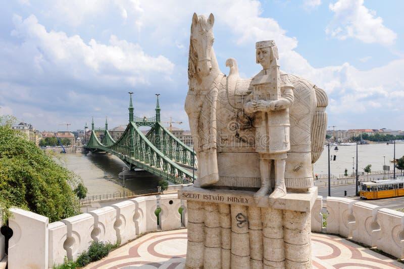 Статуя St Stephen стоковые изображения rf