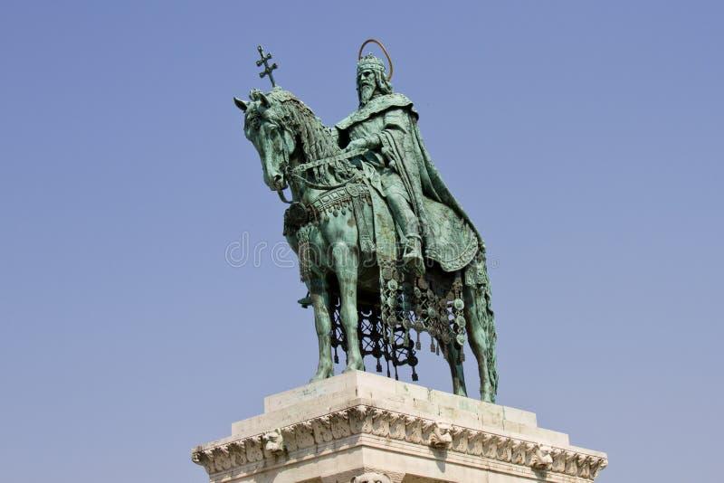статуя stephen святой budapest Венгрии i стоковая фотография rf