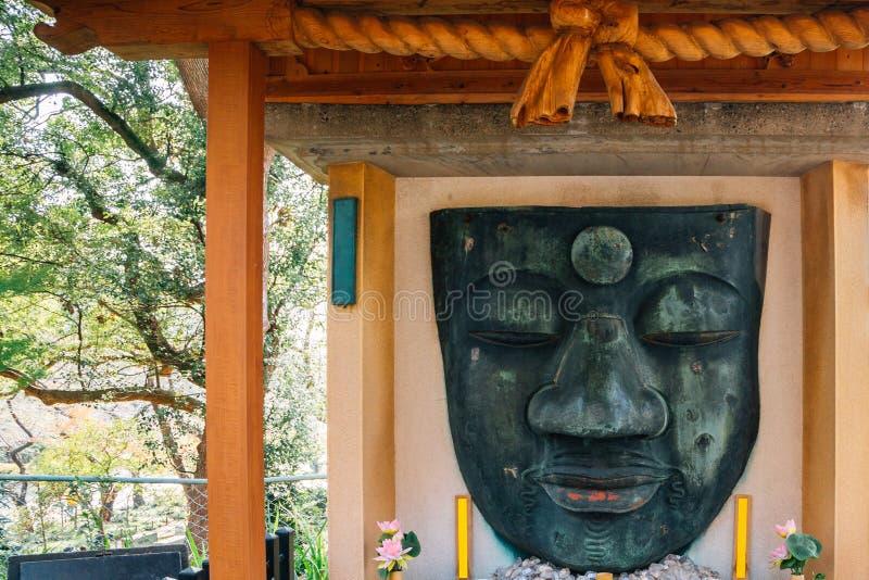 Статуя Ueno Daibutsu Будды на парке Ueno в Токио, Японии стоковое изображение rf