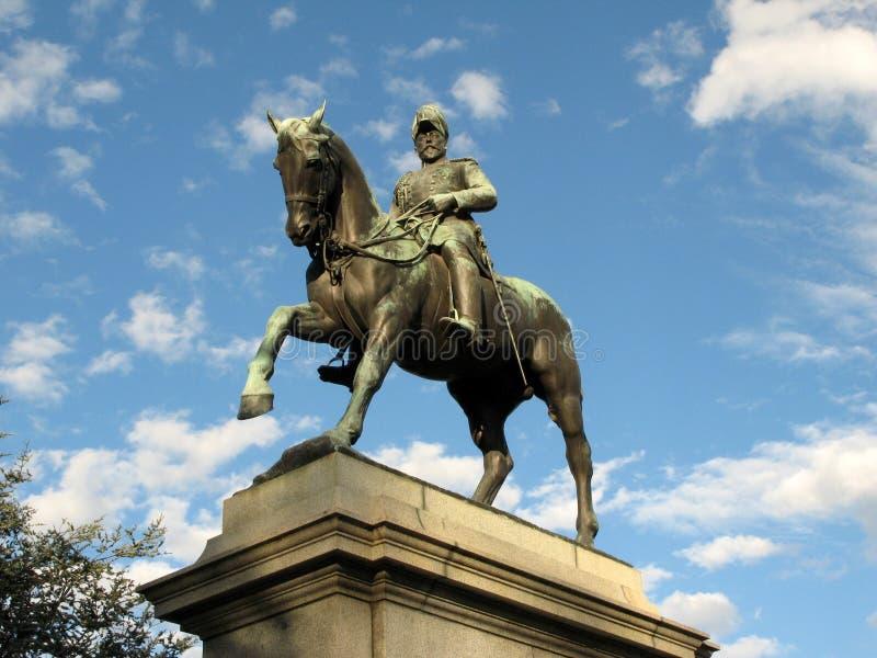 статуя VII королей edward домена Австралии стоковое фото