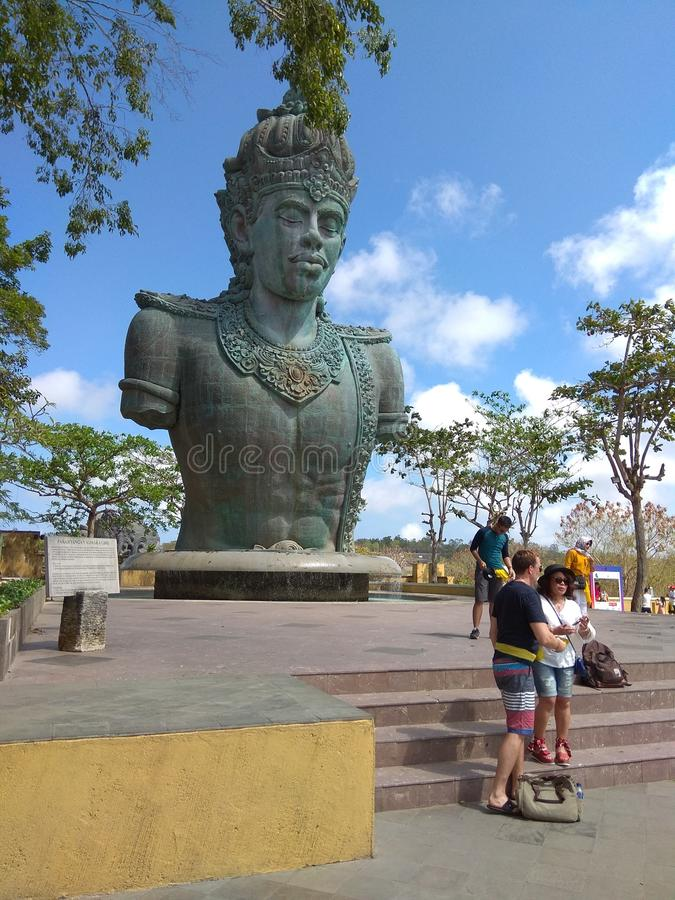 Статуя Wisnu стоковое фото rf