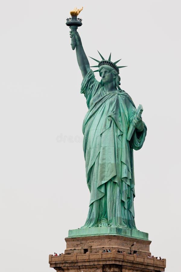 статуя york вольности города новая стоковые изображения