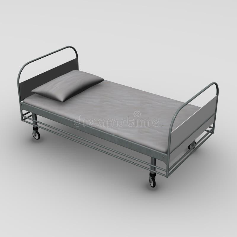 стационар кровати иллюстрация вектора