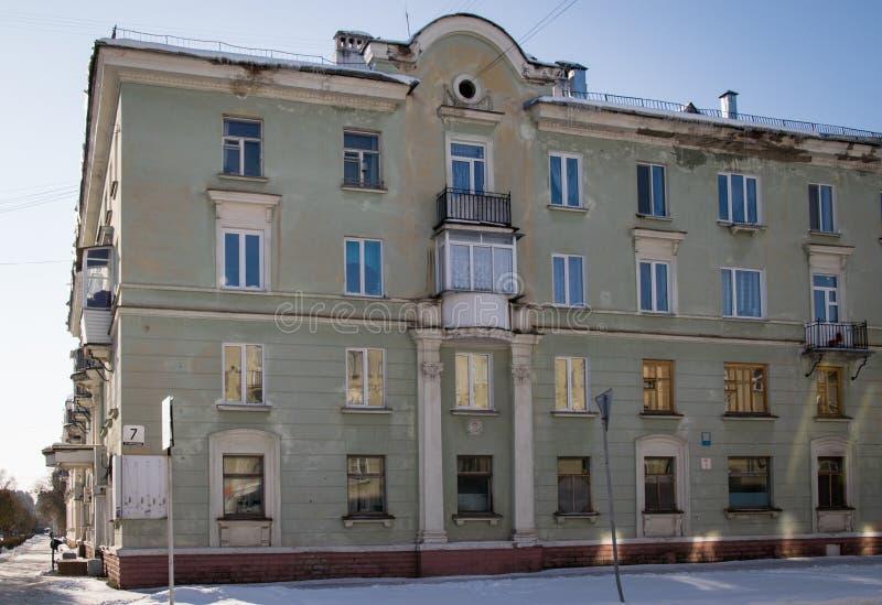 Сталинист здание стоковое фото rf
