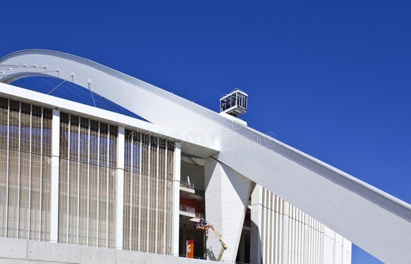 Стадионы кубка мира стоковое изображение rf