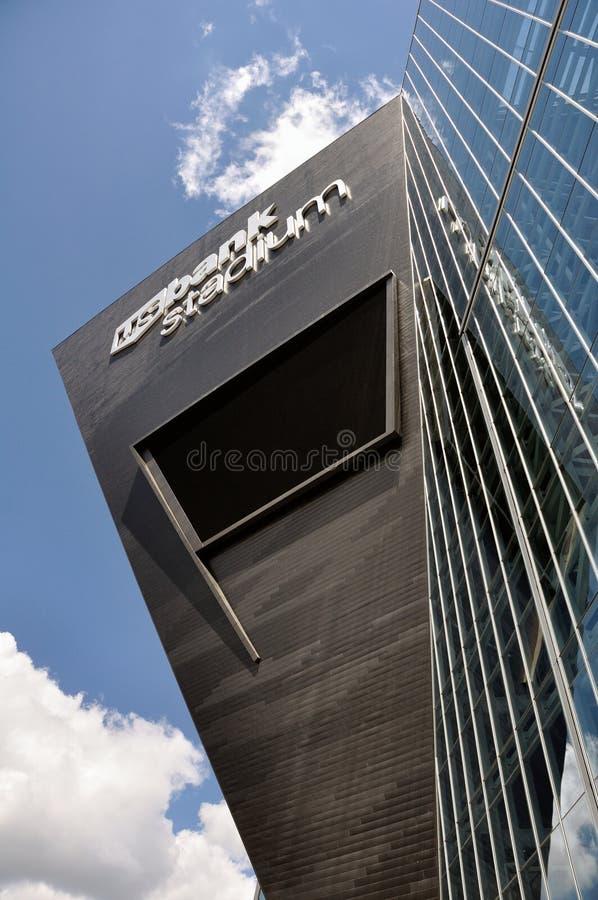 Стадион банка Минесоты Викингов США в Миннеаполисе стоковое фото