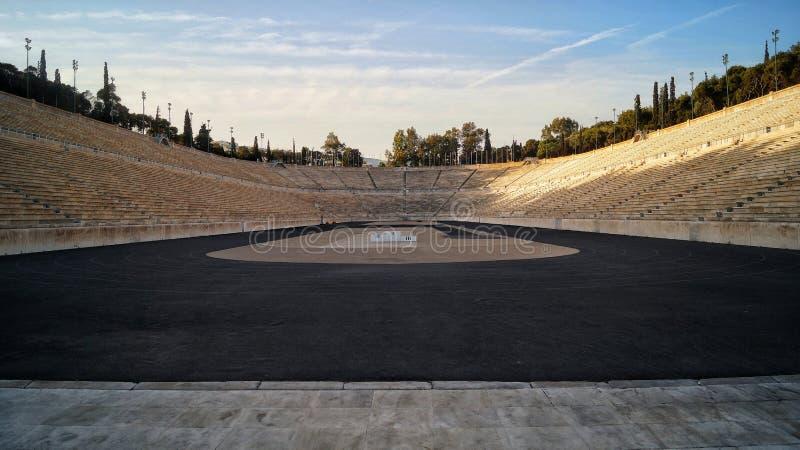 Стадион в Афиныы стоковое фото
