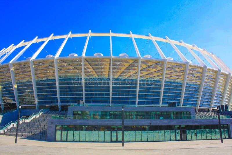 Стадион в Киеве стоковые фотографии rf