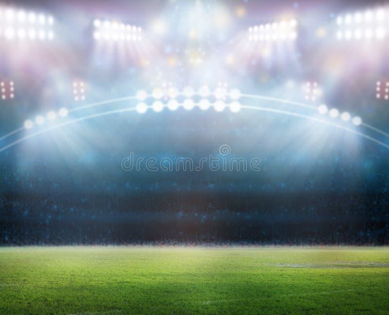 Стадион в светах бесплатная иллюстрация