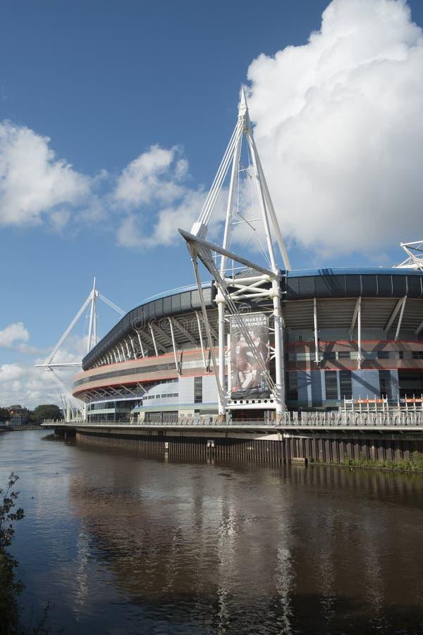 Стадион Кардифф Уэльса национальный стоковые изображения