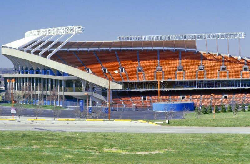 Стадион наконечника, дом вождей Kansas City, Kansas City, MO стоковые изображения