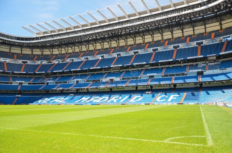 Стадион Сантьяго Bernabeu Real Madrid, Испании стоковая фотография