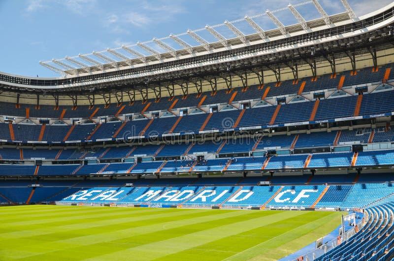 Стадион Сантьяго Bernabeu Real Madrid, Испании стоковое фото rf