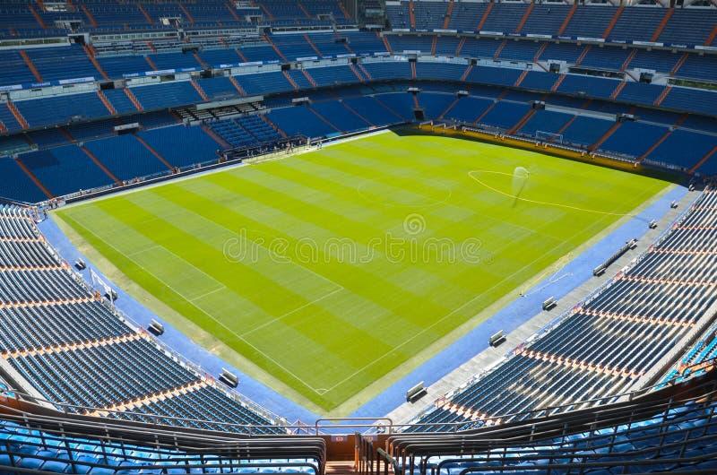Стадион Сантьяго Bernabeu Real Madrid, Испании стоковая фотография rf