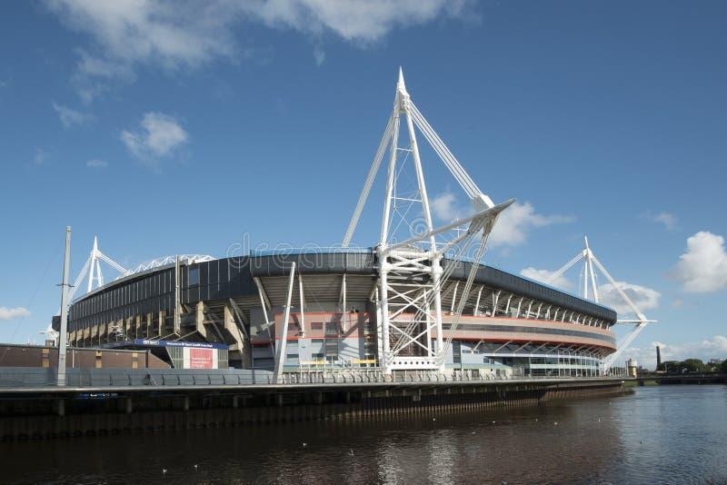 Стадион соотечественника Уэльса стоковые фото