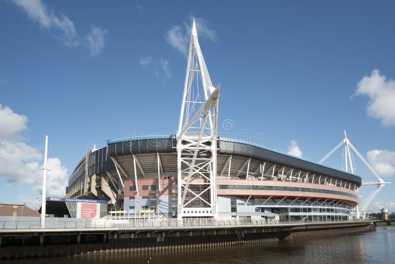 Стадион соотечественника Уэльса стоковое фото rf