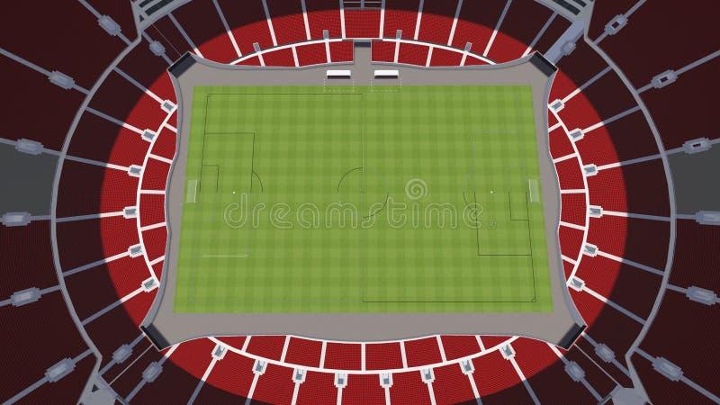 стадион иллюстрация штока