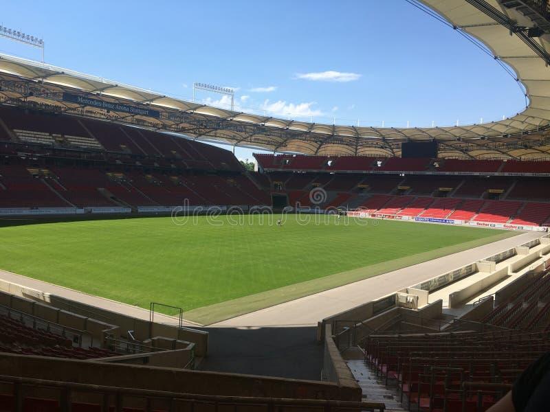 Стадион Benz Мерседес стоковое изображение