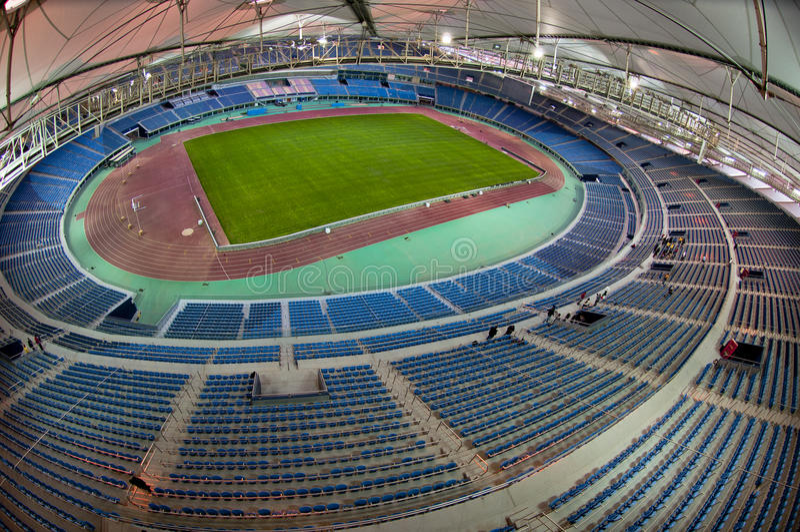 Стадион Jaber стоковое фото