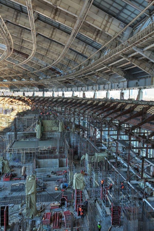 Стадион Luzhniki стоковая фотография rf