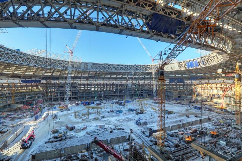Стадион Luzhniki стоковое изображение