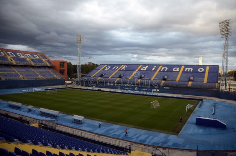 Стадион Maksimir стоковая фотография rf