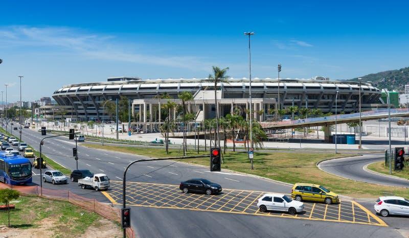 Стадион Maracana в Рио-де-Жанейро стоковые изображения