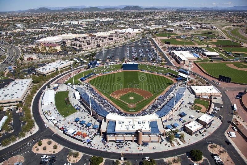 Стадион Peoria стоковое изображение rf