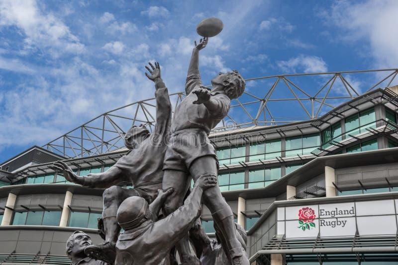 Стадион Twickenham стоковые изображения