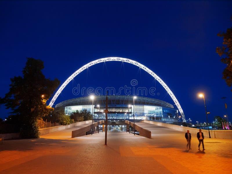 Стадион Wembley, Лондон стоковые изображения