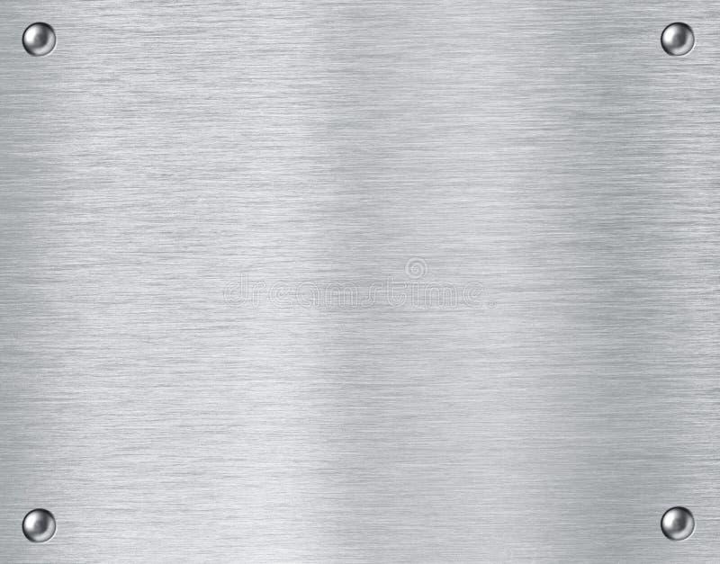 Стальная металлопластинчатая предпосылка текстуры стоковые фото