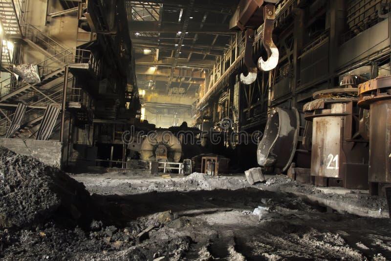 Стальная фабрика стоковые фотографии rf