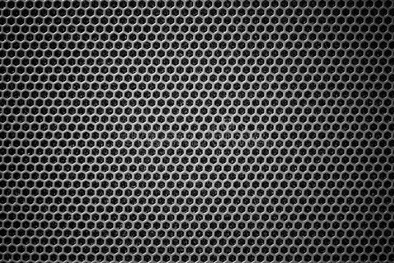 Стальная grating черная текстура предпосылки стоковое изображение