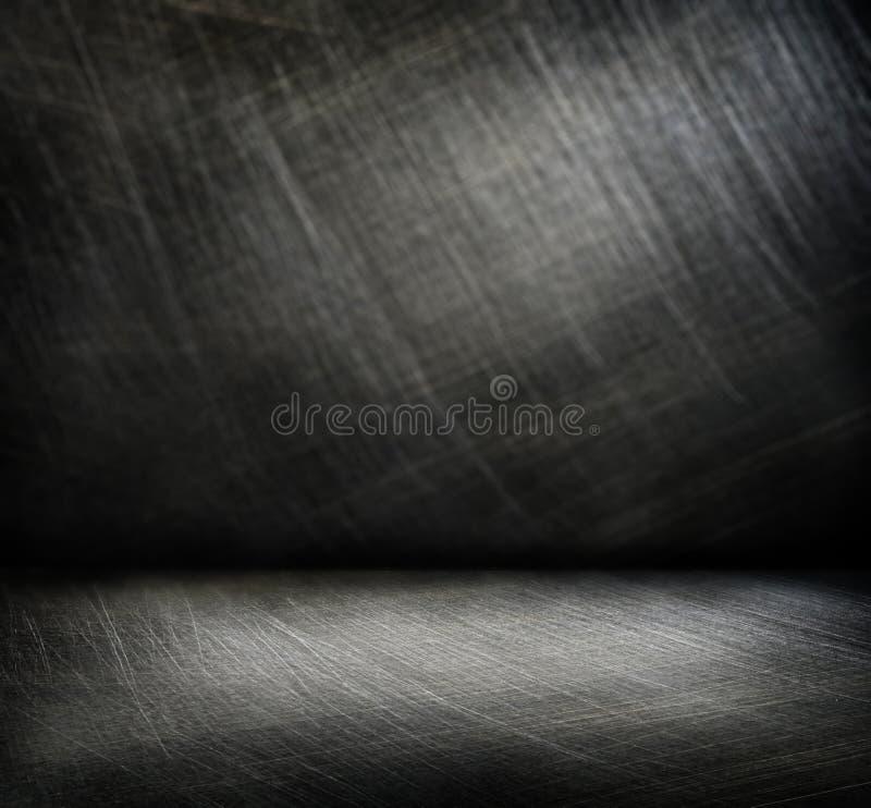 Стальная scratchy предпосылка стоковые фотографии rf