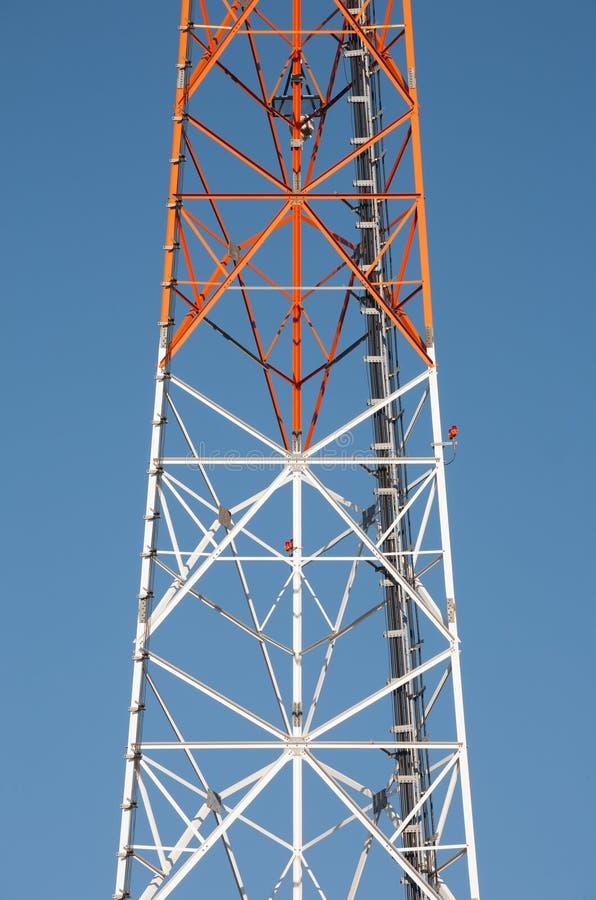 Стальной раздел башни стоковые изображения
