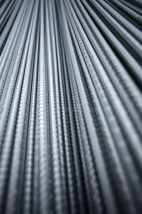 Стальной armature металла на месте здания стоковые фото