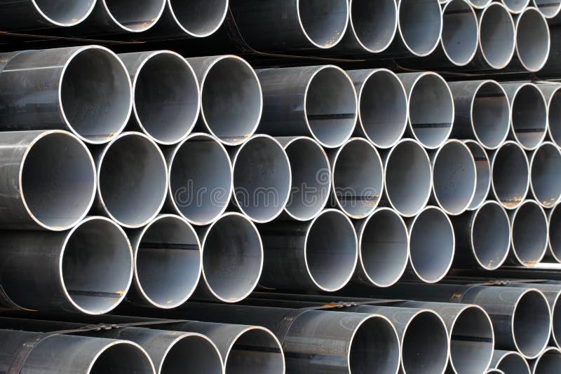 Стальные трубы стоковая фотография rf